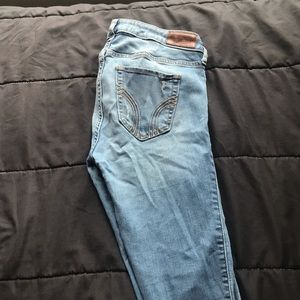 Hollister ripped jeans size 3R